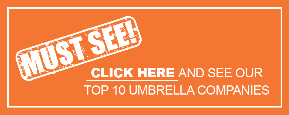 Click here to see our top 10 umbrella companies!
